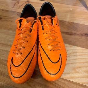 Nike hypervenom phinish FG. Size 8